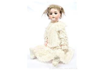 JD Kestner jnr bisque doll, German, c1897