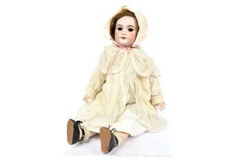 SFBJ bisque doll, French, c1910