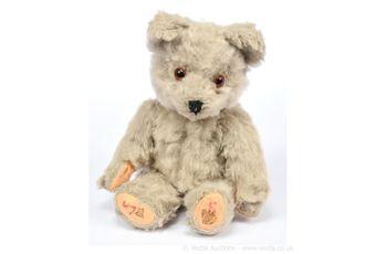 Vintage teddy bear, 1960s