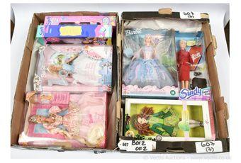 Mattel Barbie and Hasbro Sindy dolls: (1) Barbie Rapunzel