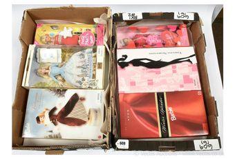 Mattel Barbie dolls x six: