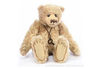 StrawBeary's Peanut artist designed teddy bear