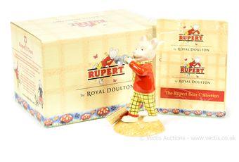 Royal Doulton The Rupert Bear Collection Rupert's Silver Trumpet,