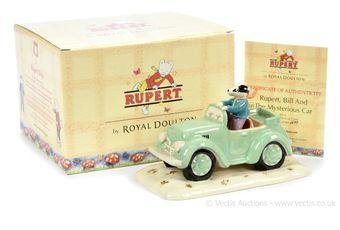 Royal Doulton The Rupert Bear Collection Rupert