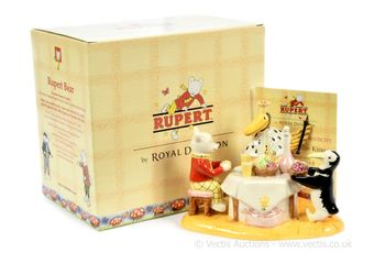 Royal Doulton The Rupert Bear Collection Rupert and the King