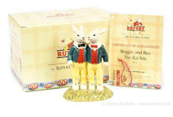 Royal Doulton The Rupert Bear Collection Reggie