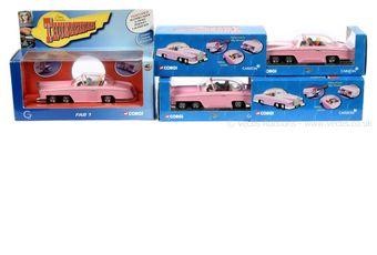 Corgi Thunderbirds CC00602 FAB 1 die-cast model x two