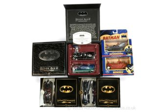 Corgi Batman 1:43 scale die-cast model two pack