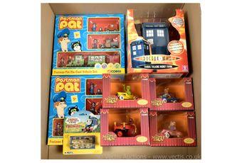 Corgi Postman Pat Die-cast Vehicle set x two, Mint