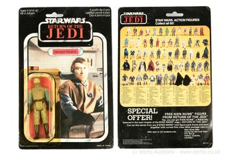 Palitoy Star Wars Return of the Jedi vintage General Madine 3
