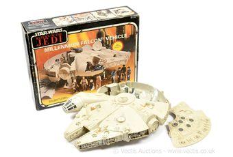 Palitoy Star Wars Return of the Jedi vintage Millennium Falcon,
