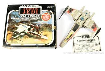 Palitoy Star Wars Return of the Jedi vintage X-Wing Fighter