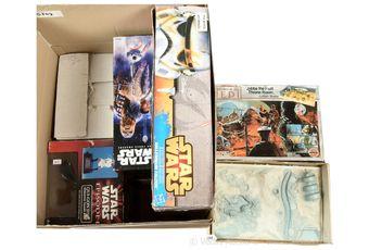 Airfix Star Wars model kits x two, both Fair