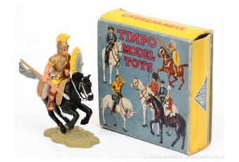 Timpo - Mounted Roman, Rare Mid Yellow Colour Variant