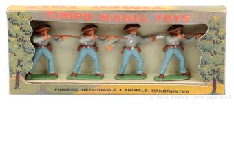 Timpo Solids - American Civil War Range, circa, 1960