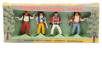 Timpo Solids - Wild West Range, circa, 1960