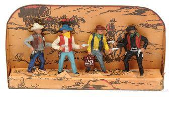 Timpo Solids - Model Ref: - Cowboy Set, circa, 1955