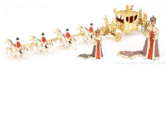 Crescent - 1977 Silver Jubilee Royal State Coach Set