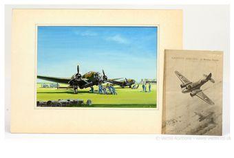 Original Artwork - Ron Jobson [Airfix