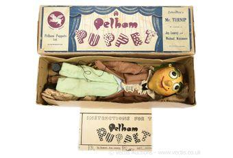 Pelham Puppets Mr Turnip marionette
