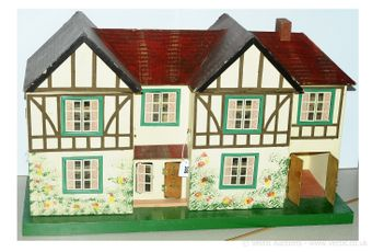 Triang vintage doll's house, British
