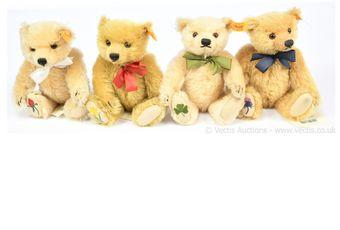 Steiff The British Isles Teddy Bears set of four: