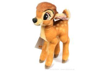 Steiff Disney Showcase Collection Bambi, brown mohair Deer