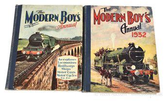 The Modern Boy's Annual, 1931