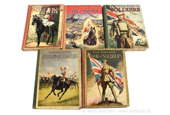 The Wonder Book of Soldiers, 3rd, 6th, 8th