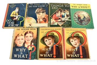 The Wonder Book of Do You Know?, 1st, 8th [1940/50's]