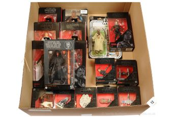 "Hasbro Star Wars Black Series 6"" figures x eight"