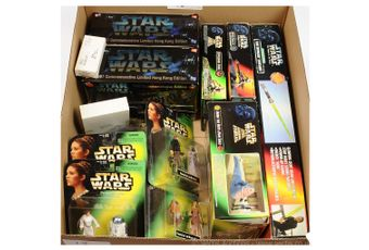 Kenner Hasbro Star Wars modern collectables x thirteen
