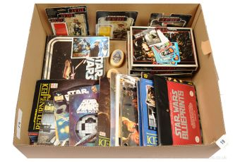 Large Quantity of vintage Star Wars Collectables