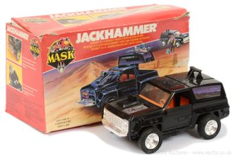 Kenner MASK Jackhammer vehicle, Fair (incomplete)