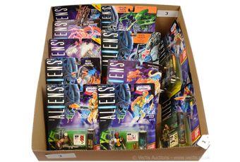 Kenner Aliens figures x eleven, all Mint