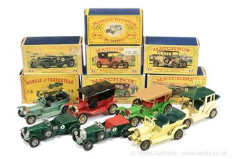 Matchbox Models of Yesteryear a boxed early group to include