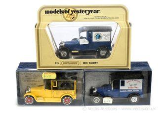 Matchbox Models of Yesteryear Code 2 group Y5 1927 Talbot Vans