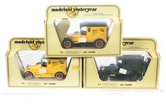 Matchbox Models of Yesteryear Code 2 issues Y5 1927 Talbot Van