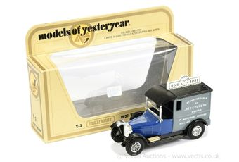 Matchbox Models of Yesteryear Code 2 issue Y5 Talbot Van