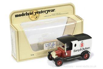 Matchbox Models of Yesteryear Y12 Ford Model T Van