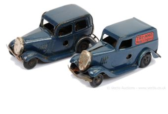 Triang Minic pair of Ford 100-pound Saloon and Van versions -