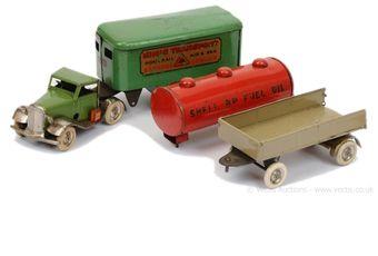Triang Minic pre-war Lorries