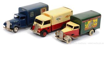 Triang Minic group of Railway Vans