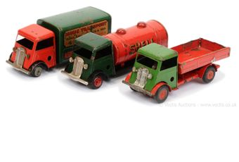 Triang Minic group of Forward Control Lorries