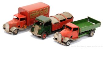 Triang Minic pre and post-war Lorries