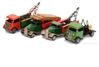 Triang Minic pair of post-war Lorries