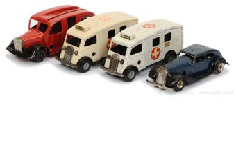 Triang Minic Emergency Vehicle group