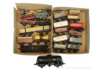 Dinky Toys, Moko and Trix pre-war HO Scale Train models