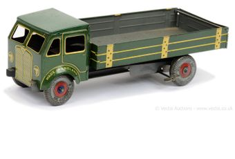 Mettoy larger scale tinplate clockwork Tipper Truck