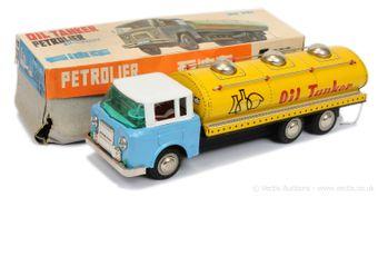 "MF Toys (China) 201 ""6-wheeled Oil Tanker"" - circa 1960's"